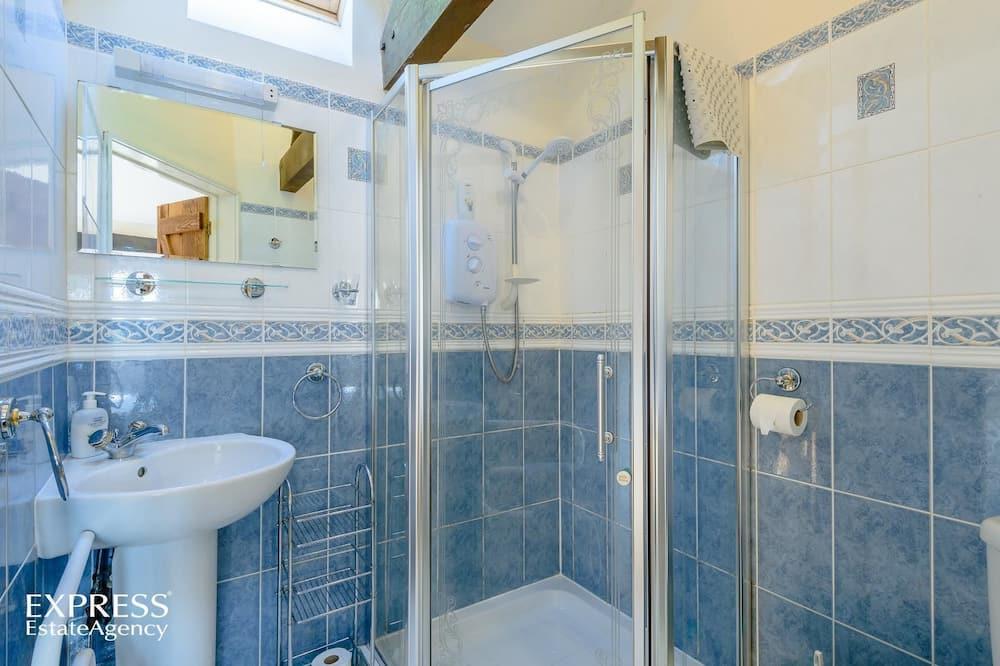 Luxusní rekreační domek, 1 ložnice, výhled na hory - Sprcha