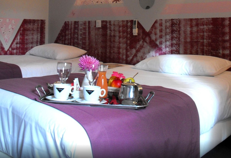 Logis Hôtel les Capucins, Avallon, Standaard Twin kamer, Meerdere bedden, niet-roken, Kamer