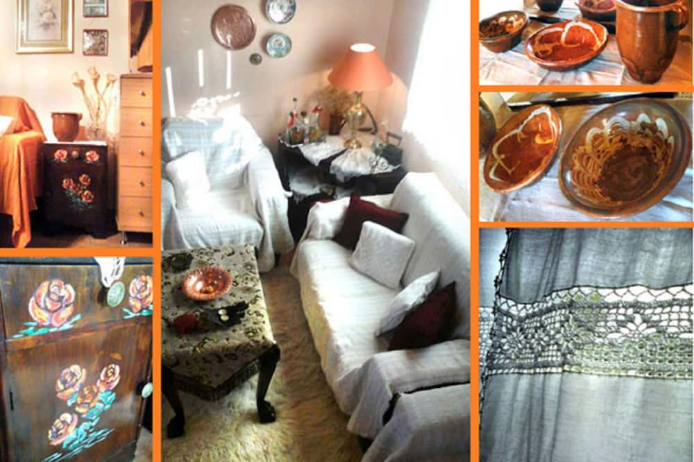 Tradicionāla villa, trīs guļamistabas, piekļuves iespējas personām ar kustību traucējumiem - Dzīvojamā zona