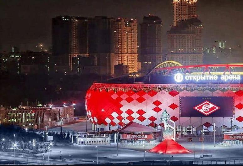 Cub-a Capsule hostel, Moskwa, Widok lotniczy