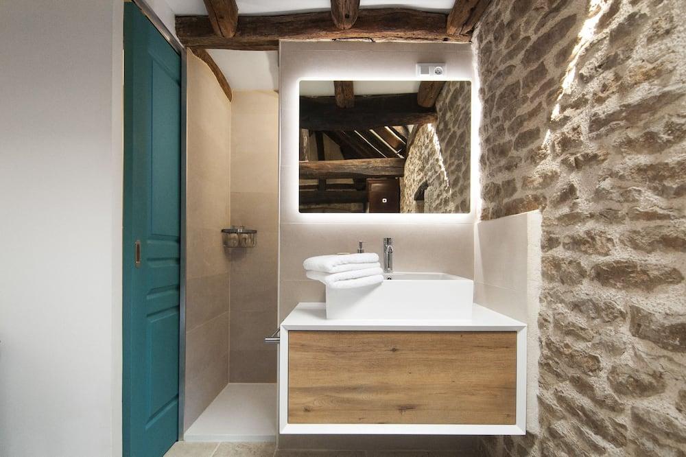 Exclusive Double Room, Ensuite, Courtyard View (Maisonnette indépendante ) - Bathroom