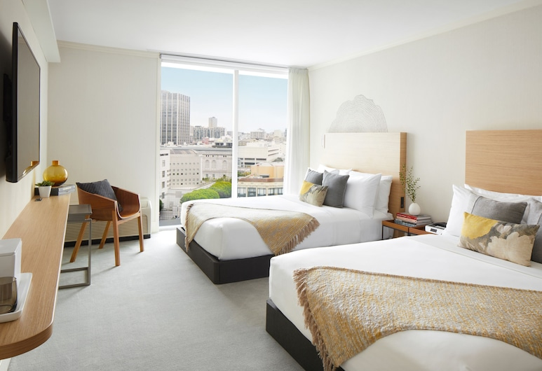 BEI Hotel San Francisco, San Francisco, Standard Room, 1 Double Bed, Accessible, Bathtub, Guest Room
