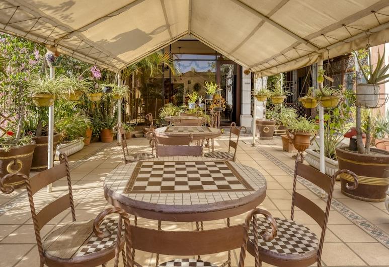 Hotel Colina Dorada, Oaxaca, Lobby társalgó