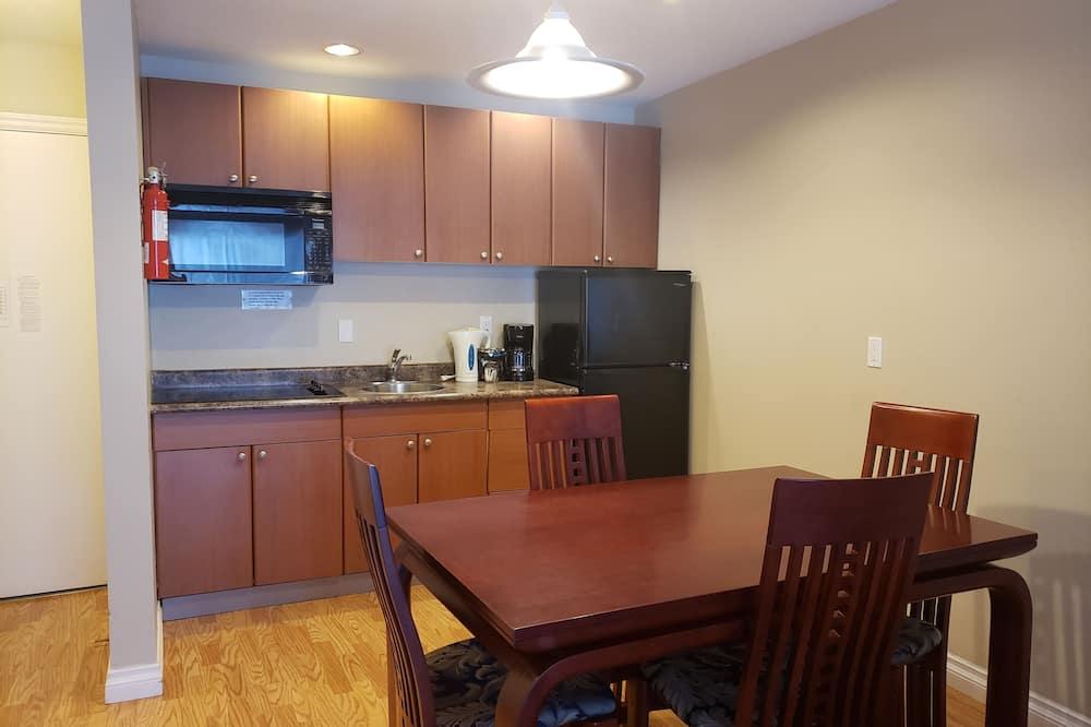 ห้องสแตนดาร์ดสวีท, เตียงคิงไซส์ 1 เตียง, ปลอดบุหรี่, ห้องครัวขนาดเล็ก - บริการอาหารในห้องพัก