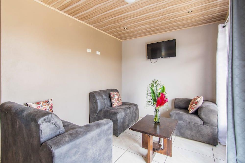 Apartamento familiar, 2 habitaciones, accesible para personas con discapacidad (Casa Monarca 2) - Sala de estar
