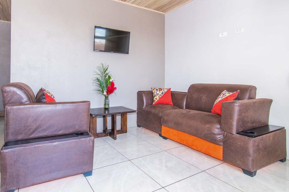 Apartamento familiar, 2 habitaciones (Casa Monarca) - Zona de estar