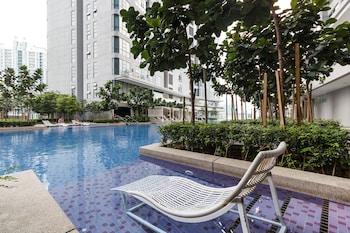 吉隆坡OYO 455 武吉免登羅伯森奢華 1 房家庭飯店的相片