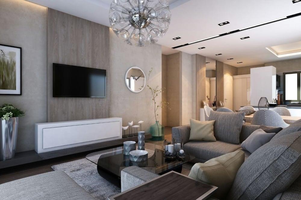 普通公寓 - 起居区
