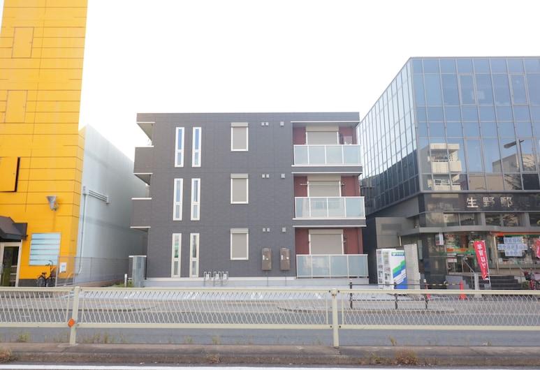 HG Cozy Hotel No.55桃谷駅, 大阪市, 施設の正面