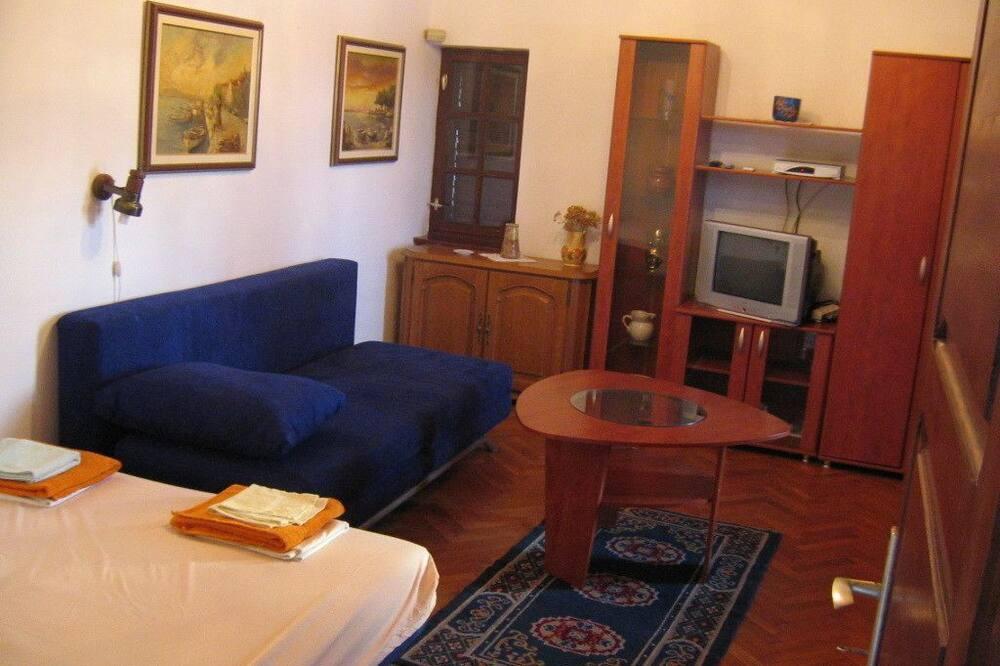 Apartmán, výhľad na more - Obývačka