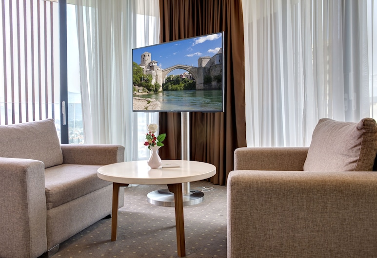 Eden Hotel& Spa, Mostar, Suite, Balcony, City View, Guest Room