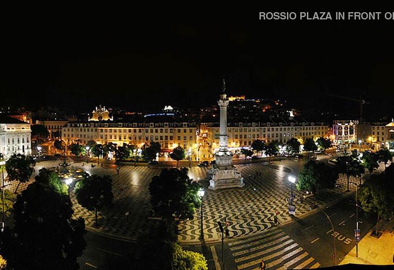 Rossio Hostel, Lisszabon, Madártávlatú nézet
