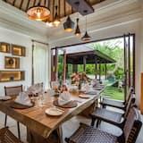 Villa, 4 habitaciones, piscina privada - Comida en la habitación