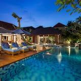 Villa, 4 habitaciones, piscina privada - Vistas desde la habitación