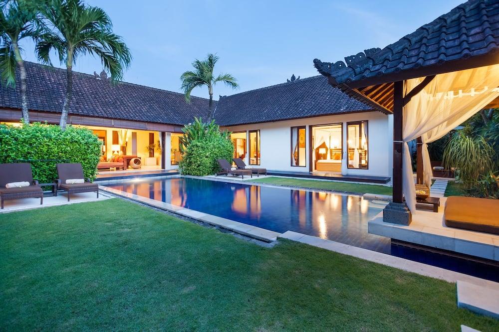 Villa de lujo, 3 habitaciones, piscina privada - Vistas al jardín
