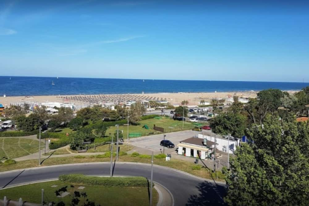 Kambarys (1 dvigulė / 2 viengulės lovos), balkonas, vaizdas į jūrą - Vaizdas į miestą