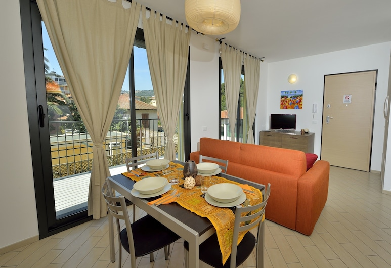 Residenza Serenella, Diano Marina, Apartamento, 1 Quarto, Varanda (6), Quarto