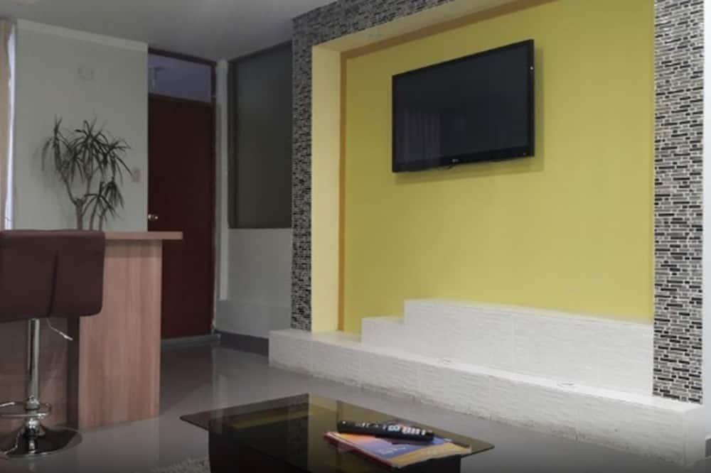 家庭公寓, 2 張標準雙人床, 非吸煙房 - 客廳