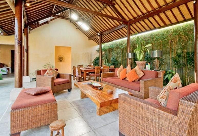 Rumi Villas Bali, Denpasar, Villa, 4 habitaciones (Rumi), Restaurante al aire libre