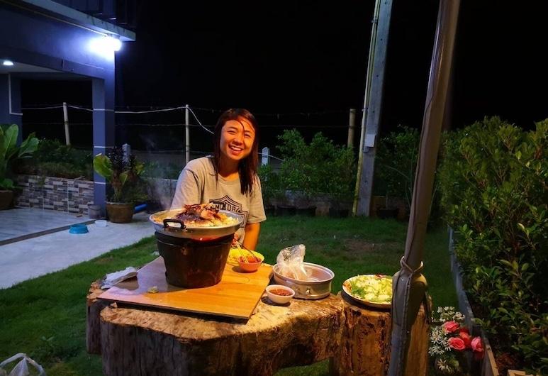 Ban Kaeng Resort, Chiang Khan, Terasa/trijem