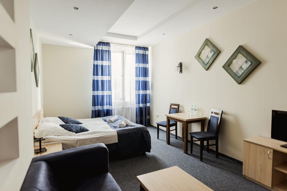 雙人房單人入住, 1 張特大雙人床 - 客房