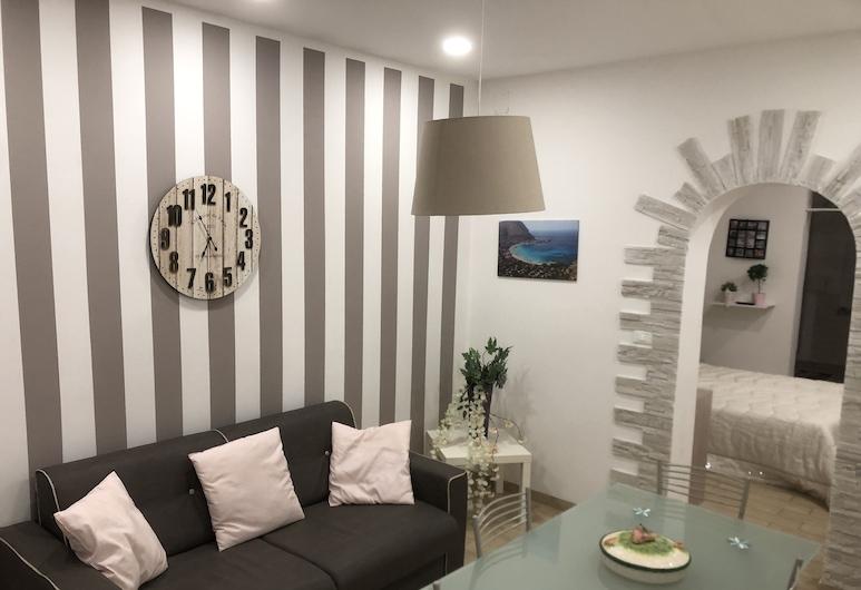 Alessia House, Palermo, Classic apartman, 2 spavaće sobe, Dnevni boravak