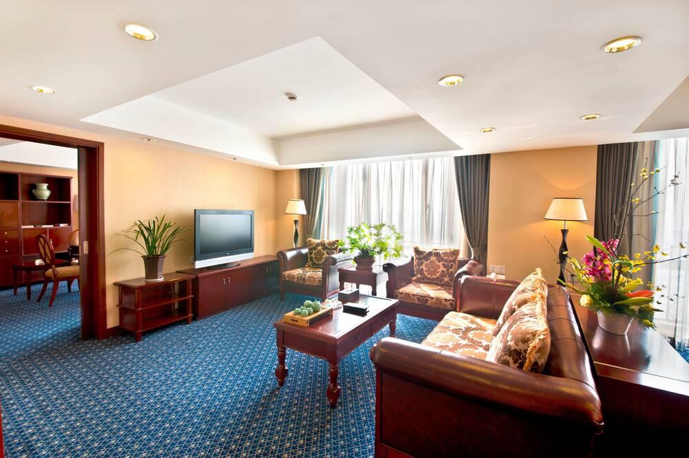 סוויטה נשיאותית - חדר אורחים