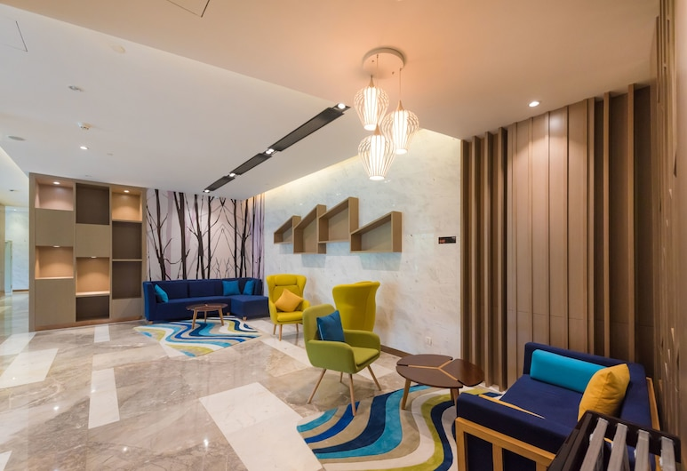 Vyluk Baiyun International Airport Hotel (Previous Holiday Inn Express), Guangzhou, Puhkeala fuajees