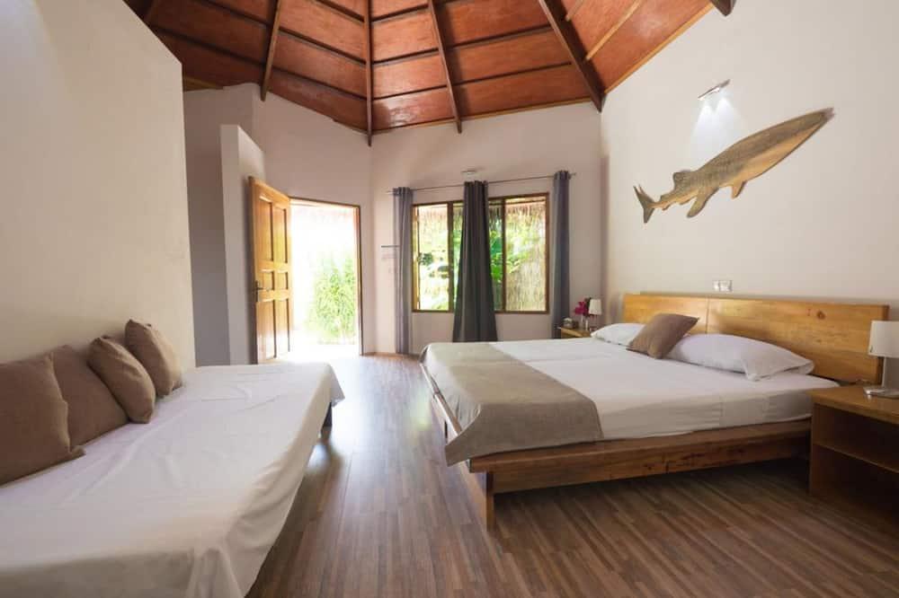 客房, 多張床, 花園景 - 特色相片