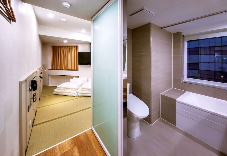 APause-Inn, Taipei, Comfort Twin Room, Bilik Tamu