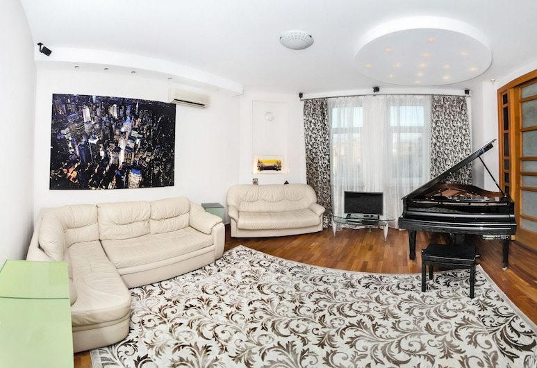 ApartExpo on Kutuzovsky 35, Moskwa, Apartament, 2 sypialnie, Salon