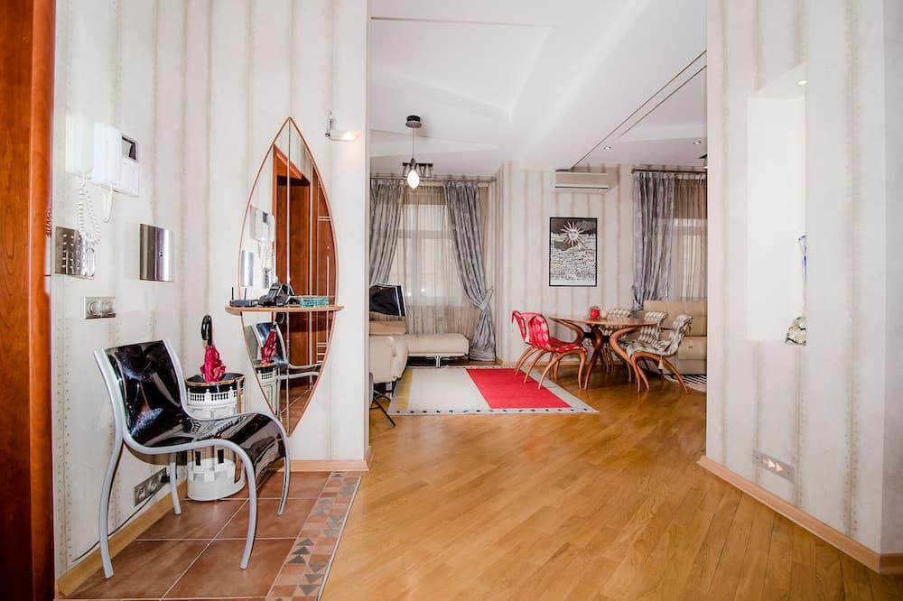 Apartmán, výhľad na mesto - Obývacie priestory