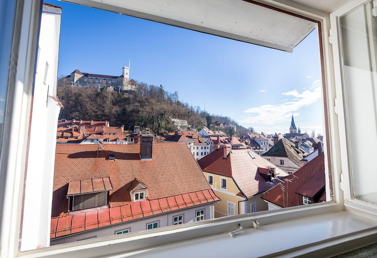 Barbo Palace, Ljubljana, Apartment, 2 Bedrooms (The Castle View No.1), City View