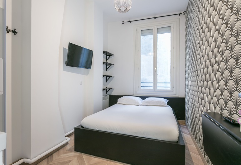 Coeur Urbain Bedrooms - Gare St Roch II, Montpellier, Chambre Classique, 1 lit double, non-fumeurs, vue cour intérieure, Chambre