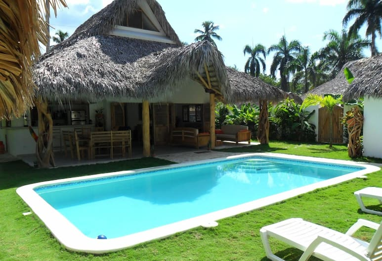 House With 4 Bedrooms in Las Terrenas, With Private Pool, Enclosed Garden and Wifi - 250 m From the Beach, Las Terrenas