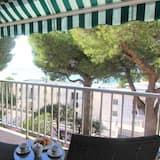Economy apartman, 1 spavaća soba, pogled na more - Balkon