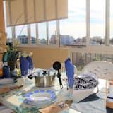 Apartamentai, 1 miegamasis - Terasa / vidinis kiemas