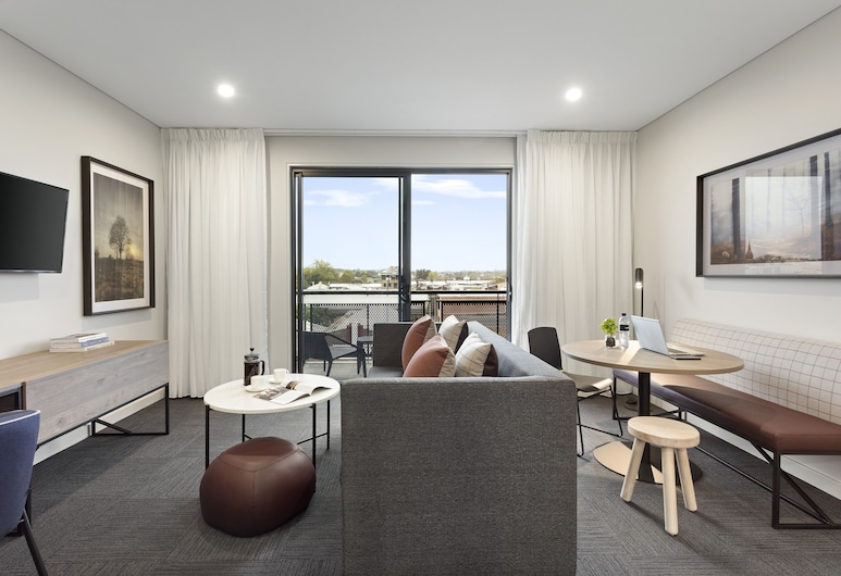 Quest Orange, Orange, Apartmán, dvojlůžko (200 cm), Obývací pokoj
