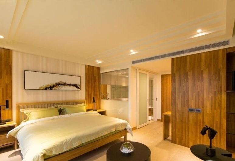 Viva La Vivace Tainan Hostel, Tainan, Dvojlôžková izba, 1 dvojlôžko, nefajčiarska izba, Hosťovská izba