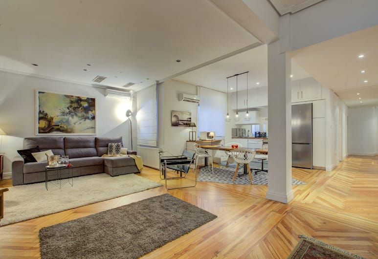 UD Apartments Central Gran Via Apartment, Madrid, Panoramic Apartment, City View, Bilik Rehat
