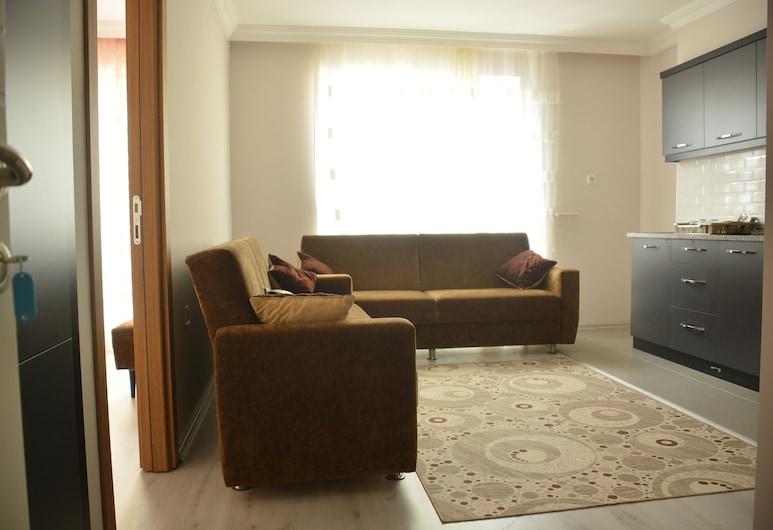 Acar Apart Otel 2 , Antalya, Apartment, Stadtblick, Wohnbereich