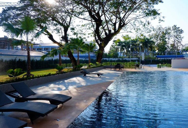 Sann Hotel, Chiang Rai, Kültéri medence