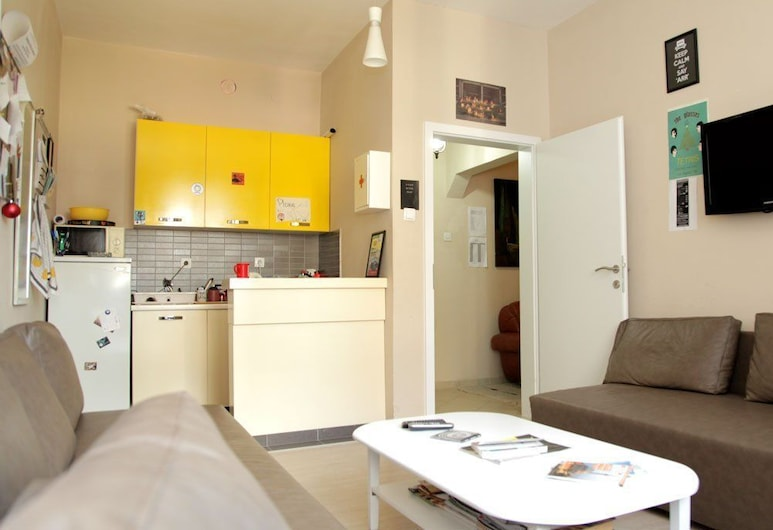 Hostel Han, Priština, Sala de estar