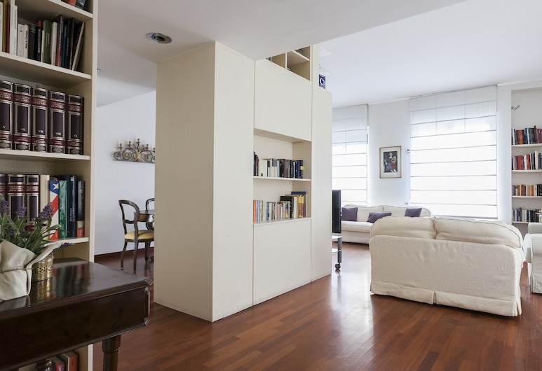 Italianway Apartments - Moscova 46-1, Milan, Apartment, 2 Bedrooms, City View, Living Area