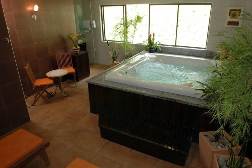 Suite, 1 cama King size - Bañera de hidromasaje privada
