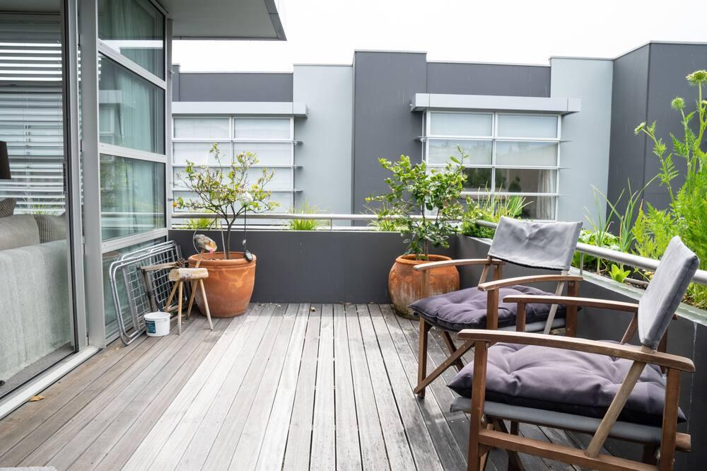 Studio, 1 soverom, balkong - Balkong