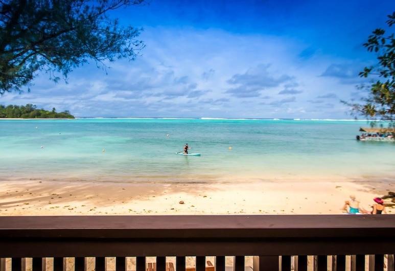 Muri Shores, Rarotonga, Villa, Em frente à praia, Quarto