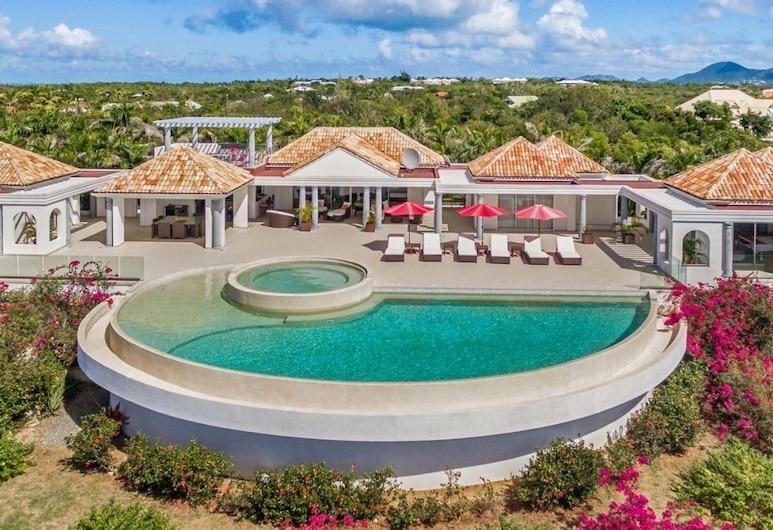 Villa Just In Paradise, Les Terres Basses, Außenpool