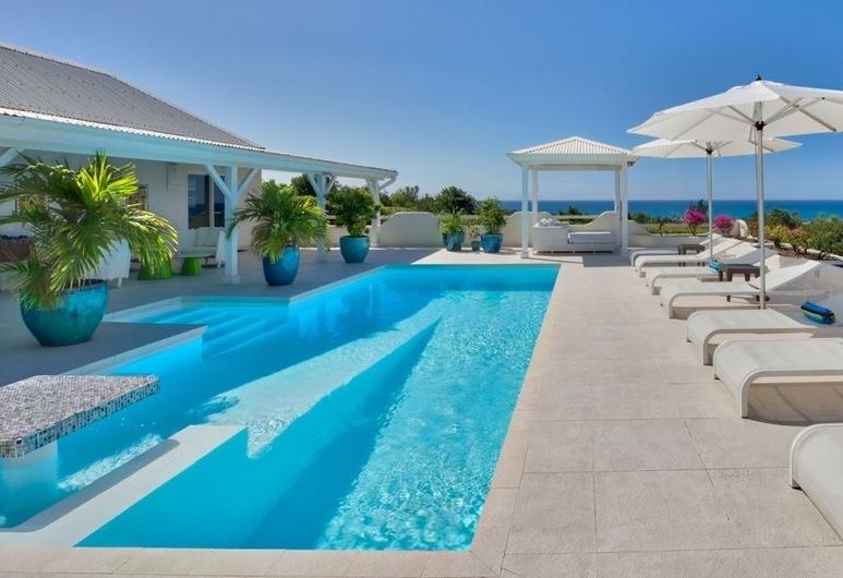 Villa La Magnolia, Les Terres Basses, Pool