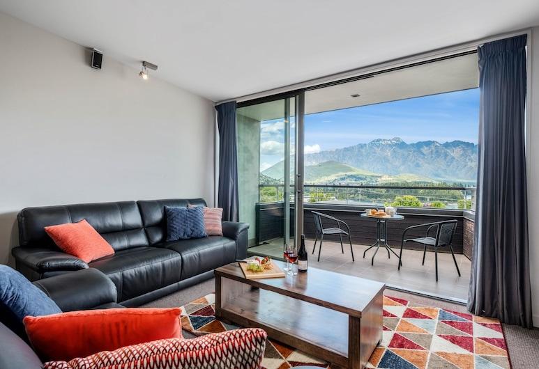 Scenic Queenstown Apartment, Queenstown, Külaliskorter, 3 magamistoaga, vaade järvele, Lõõgastumisala
